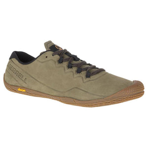 Merrell Vapor Glove 3 Luna Leather Sneaker - Dusty Olive