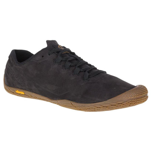 Merrell Vapor Glove 3 Luna Leather Sneaker - Black