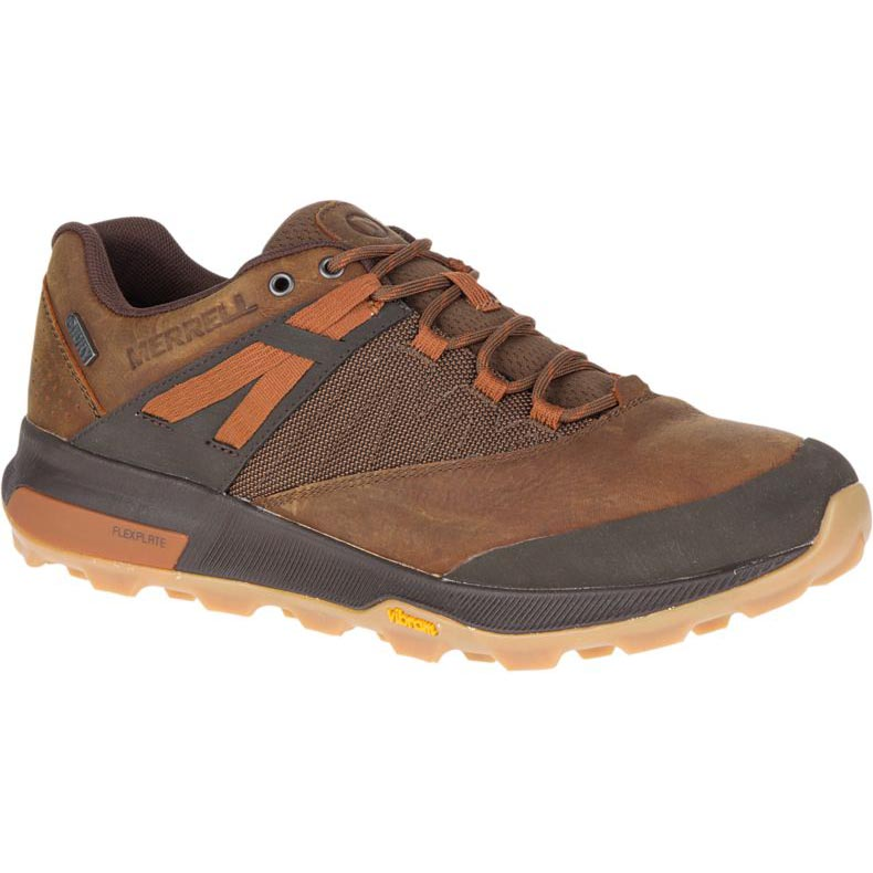 Merrell Zion Waterproof Hiking Shoe - Toffee