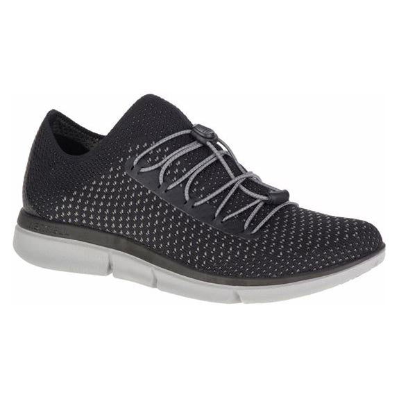 Merrell Zoe Sojourn Lace Knit Q2 Shoe - Black/Grey