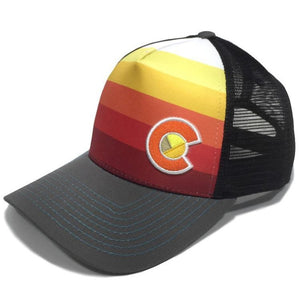 YO Colorado Midnight Fade Trucker Hat