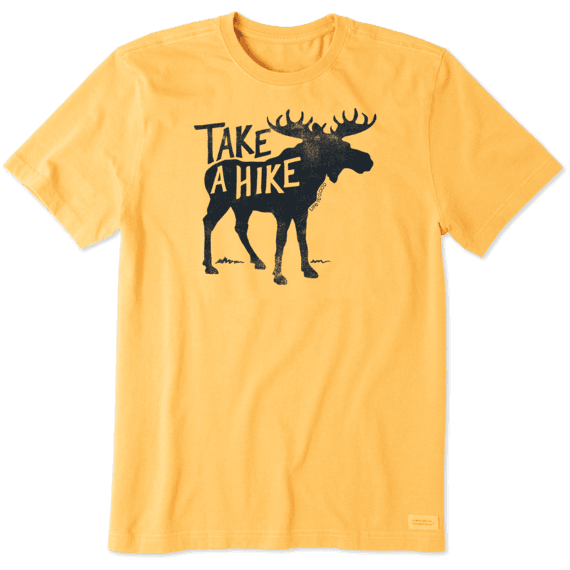 Life is Good Take a Hike Moose T-Shirt
