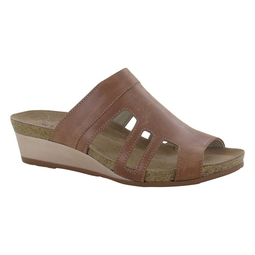 Naot Carriage Sandal - Mocha Rose Leather