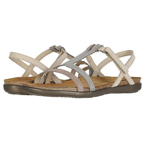 Naot Judith Sandal - Stone / Light Gray / Beige pair