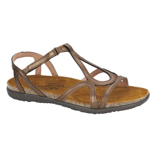 Naot Dorith Sandal - Grecian Gold Leather