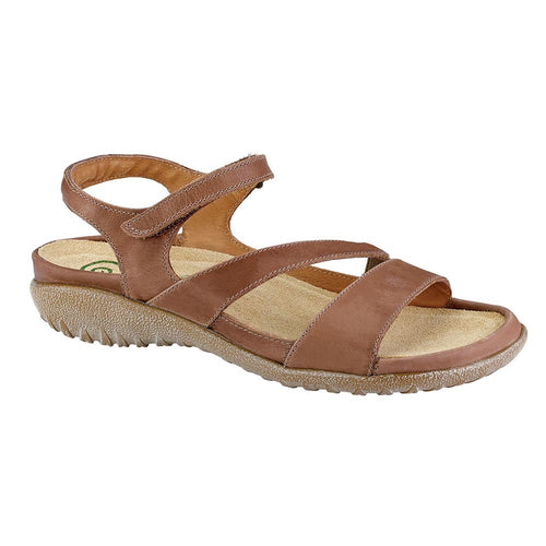 Naot Etera Sandal - Latte Brown Leather