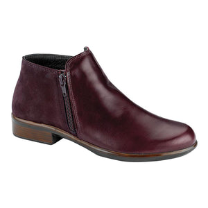 Naot Helm Boot - Bordeaux Leather/Violet Nubuck