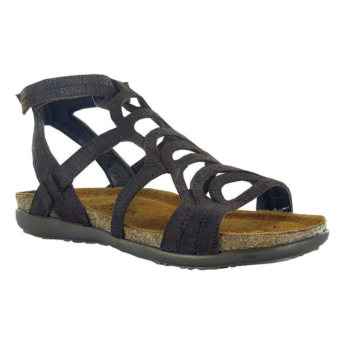 Naot Sara Sandal - Mine Brown Leather
