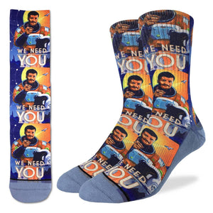 Good Luck Socks Men's Neil DeGrasse Tyson Sock