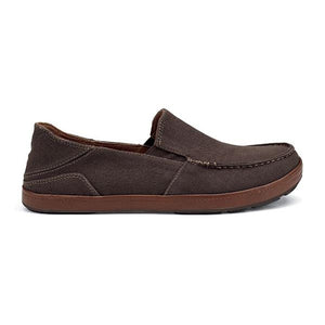 OluKai Puhalu Canvas Slip-On - Dark Java