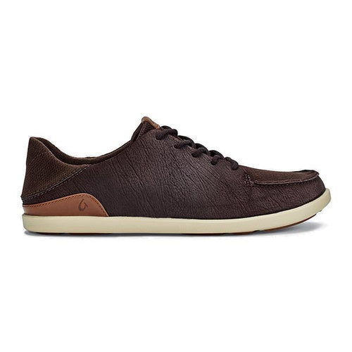 OluKai Manoa Leather - Dark Wood / Toffee