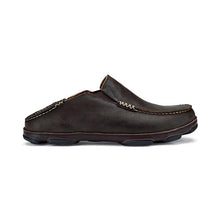 OluKai Moloa Slip-On - Dark Wood / Dark Java