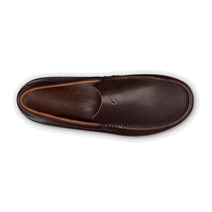 OluKai Kulana Loafer - Dark Wood / Dark Wood