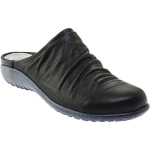 Naot Paretao Soft Black Leather - Slight Right