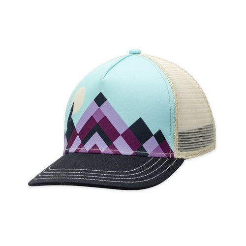 Pistal Lunar Trucker Hat - Black