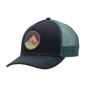 Pistil Spike Trucker Hat - Black