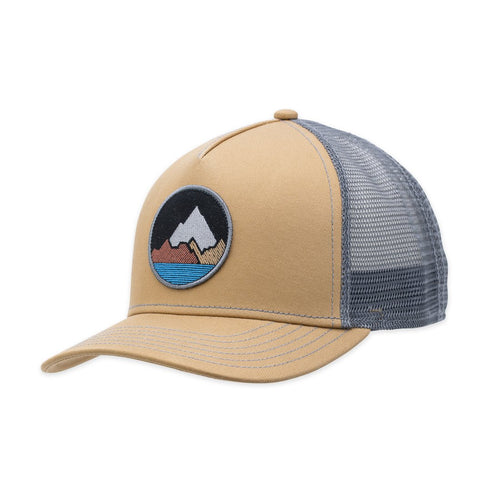 Pistil Spike Trucker Hat - Camel