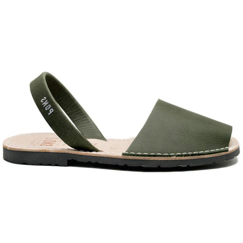 Pons Classic Sandal - Forest Green