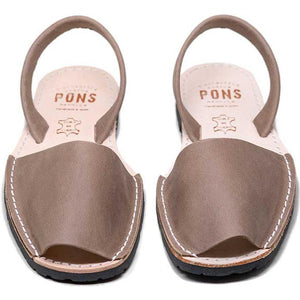 Pons Classic Sandal - Taupe pair