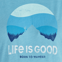 Life is Good Women's Retro Sunset Hike T-Shirt