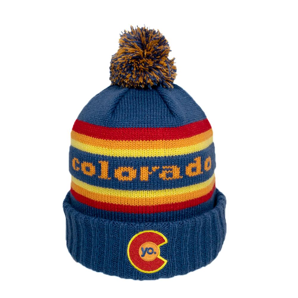 YO Colorado - Retro Flyer Beanie