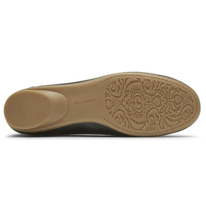 Rockport Cobb Hill Maiika Ballet Flat - Black Sole