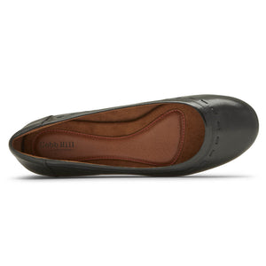 Rockport Cobb Hill Maiika Ballet Flat - Black Top