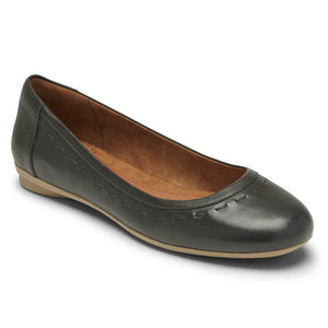 Rockport Cobb Hill Maiika Ballet Flat - Black