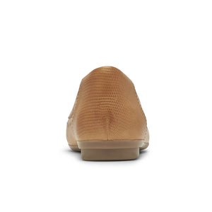 Rockport Cobb Hill Maiika Ballet Flat - Amber Yellow Back