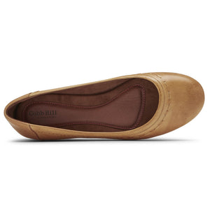 Rockport Cobb Hill Maiika Ballet Flat - Amber Yellow Top