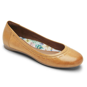 Rockport Cobb Hill Maiika Ballet Flat - Amber Yellow