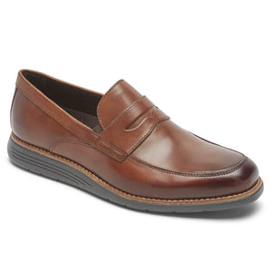 Rockport Total Motion Sport Dress Penny Loafer - Cognac
