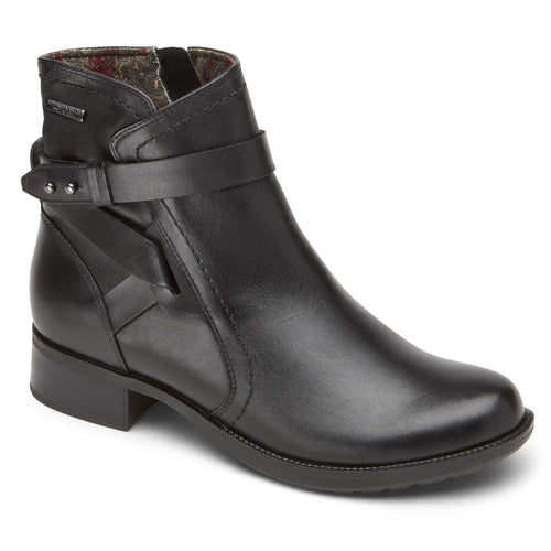 Rockport Copley Waterproof Strap Boot - Black
