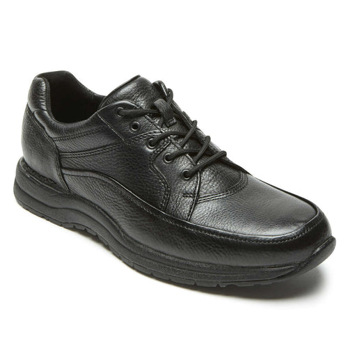 Rockport Edge Hill II Walking Shoe - Black Leather