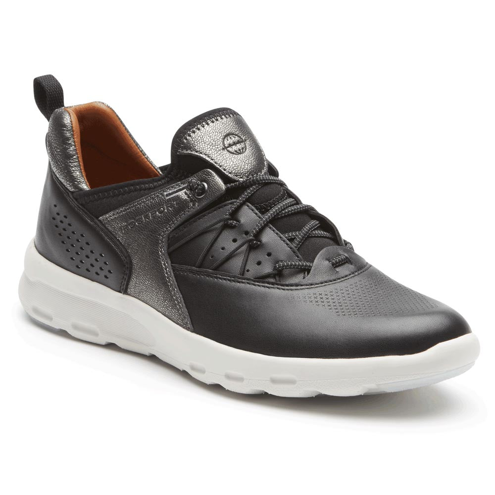 Rockport Let's Walk Bungee Sneaker - Black