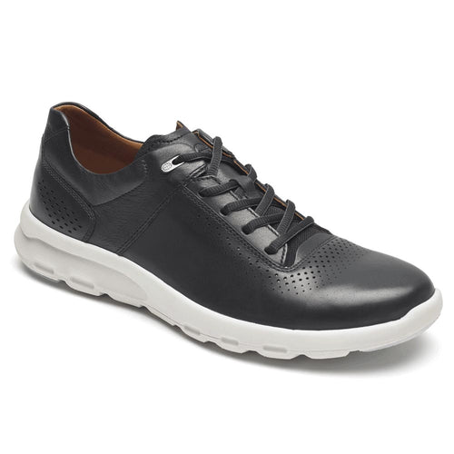 Rockport Let's Walk Plain Toe Sneaker - Black