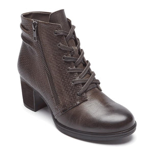 Rockport Natasha Lace Boot - Stone