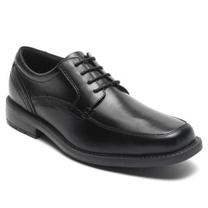 Rockport Sherwood Apron Toe Dress Shoe - Black