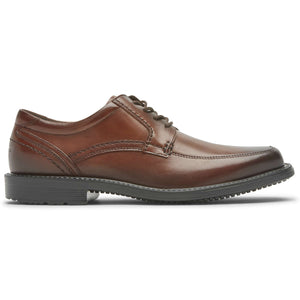 Rockport Sherwood Apron Toe Dress Shoe - Cognac