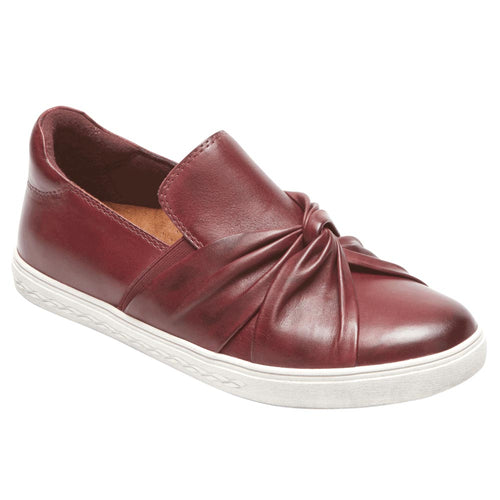 Rockport Willa Bow Slip-On Sneaker - Wine