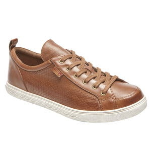 Rockport Willa Lace to Toe Sneaker - Almond