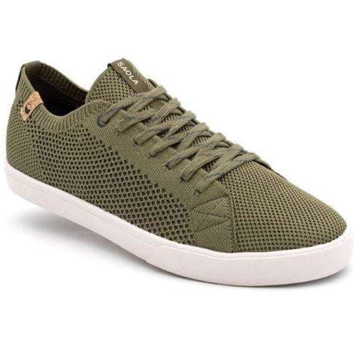 Saola Cannon Knit Sneaker - Burnt Olive