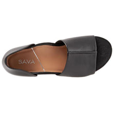Sava Calera Sandal - Black / White top