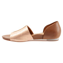 Sava Calera Sandal - Rose Gold / Saddle side