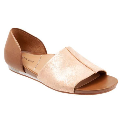 Sava Calera Sandal - Rose Gold / Saddle