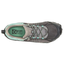 Oboz Sapphire Low B-Dry Hiking Shoe - Charcoal top