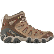 Oboz Sawtooth II Mid Hiking Boot - Brindle / Brandy Brown side