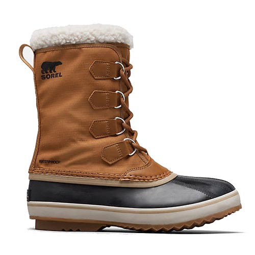 Sorel 1964 Pac Nylon Boot - Camel Brown, Black