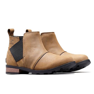 Sorel Emelie Chelsea Boot - Major, Black Side View