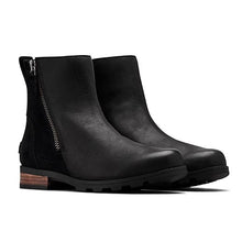 Sorel Emelie Zip Bootie - Black